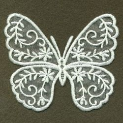 Organza Decorative Butterfly 4 - 4x4 | What's New | Machine Embroidery Designs | SWAKembroidery.com Ace Points Embroidery