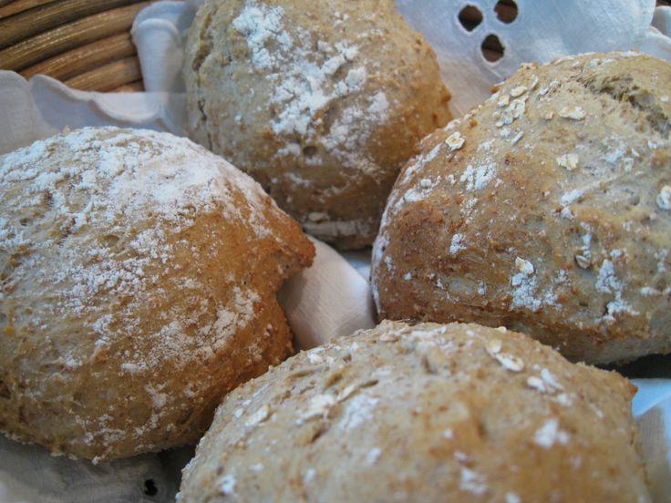 Grovboller til madpakker | Poppskrifter