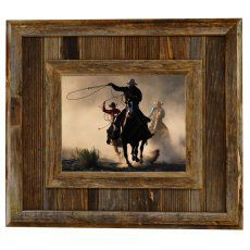 Durango Rustic Barnwood Picture Frame, 8x10 The Durango 8x10 barnwood picture frame is an extra wide reclaimed wood frame. Built from scrap ends of lumber used in the barnwood picture frame manufactur