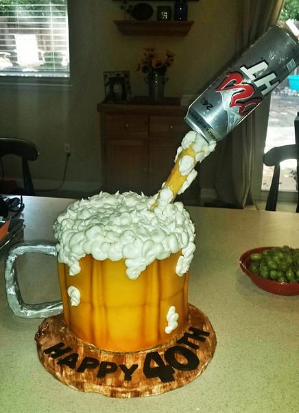 Coors Light Cake | My Cake Creations | Cake, Light cakes ...