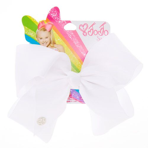 Claires : JoJo Siwa Large White Signature Hair Bow