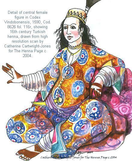 Ottoman henna late 16th century