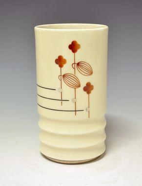 Nora Gulbrandsen for Porsgrund Porselen, Produksjon date 1933.1940, Model nr 2110.2, Decor nr: 8001, DigitaltMuseum