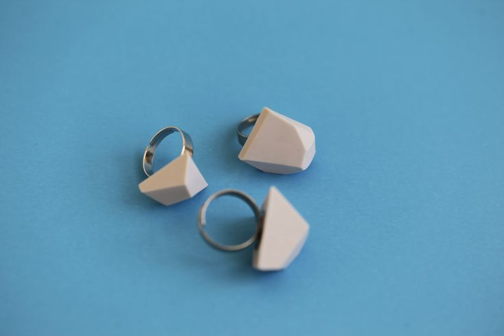 #Geometric #ring #earring #minimal #polymer #geode #cut #edgy #urban #industrial #architecture #jewellery #colors #fashion