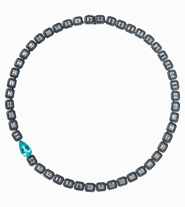 На контрасте: черная эмаль и бриллианты чистой воды в новинках Nikos Koulis | Украшения | VOGUE
