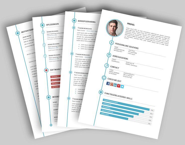 CV template 2022. Laat de lay-out van je CV pimpen en eventueel de tekst optimaliseren. www.mooicv.nl
