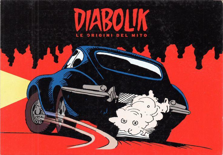 """PROMOCARD n. 7865 2008 - """"Diabolik le origini del mito"""""""