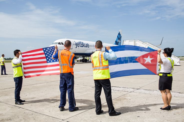 What It Was Like to Be On the Historic U.S.-Cuba Flight