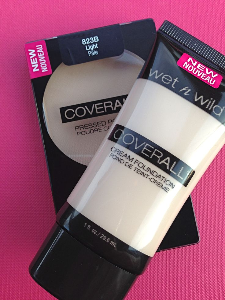 Product Review: Wet n Wild CoverAll® Cream Foundation and Pressed Powder