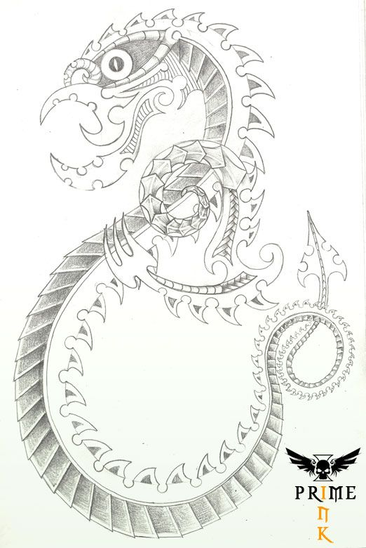 Taniwha by Primeink