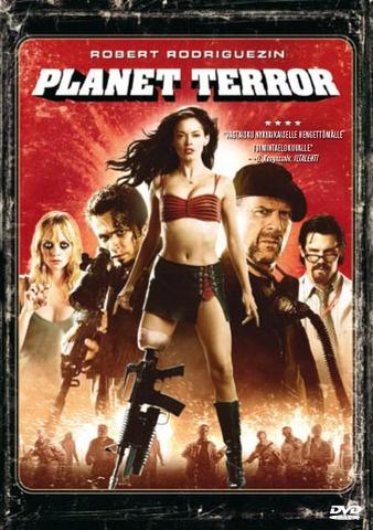 Planet Terror DVD Iinalta :) Päivän pikaiset, maaliskuu 2013