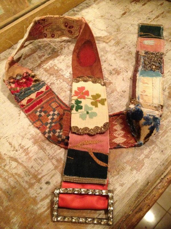 DIY Patchwork - Quilt - Quilten: ~Riem 1a - ook schouderband tas / fototoestel: van Pam Garrison *Belt~
