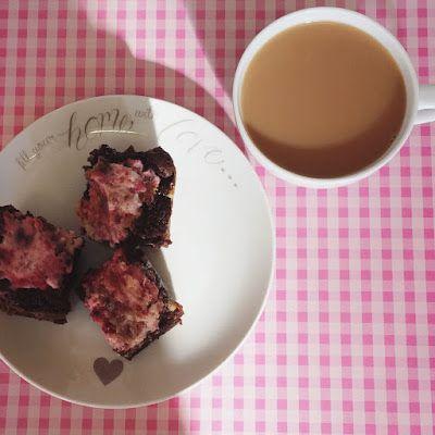 Jennifer Joyce Writes: Five Recipes: Rasberry Cream Cheese Brownies