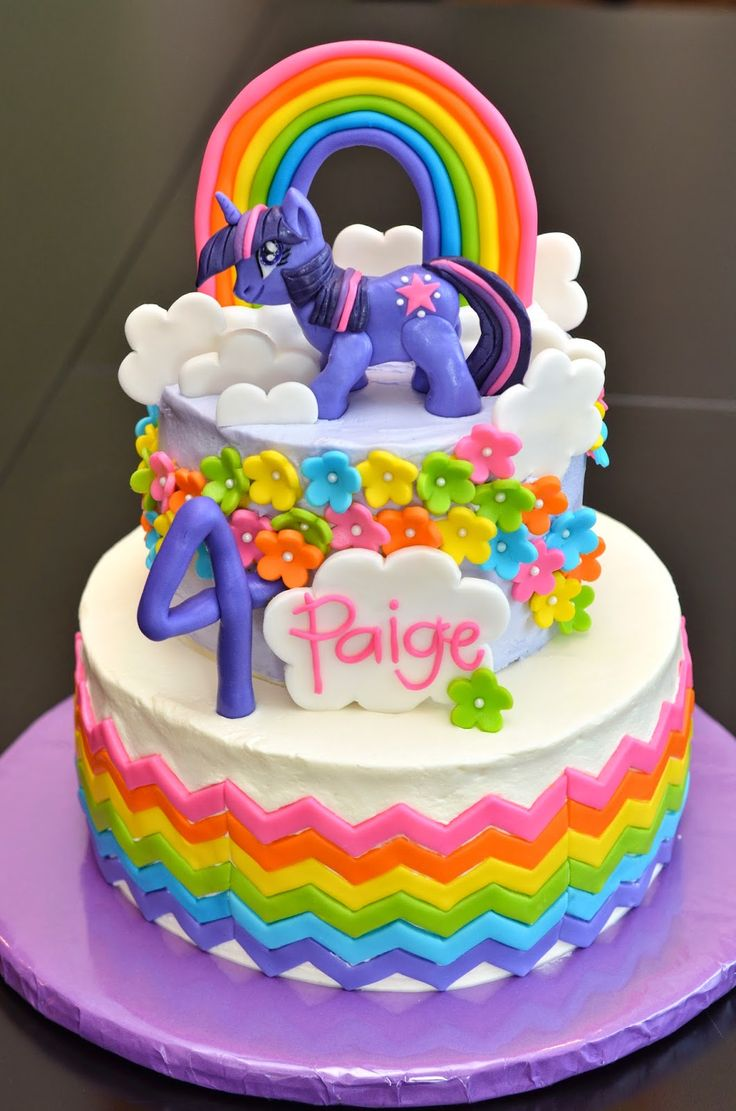 Twilight Sparkle Birthday Cakes Google Search My