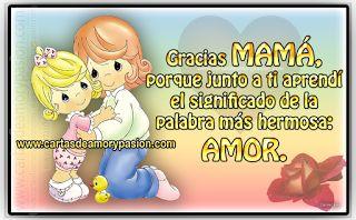 Carta para mi madre