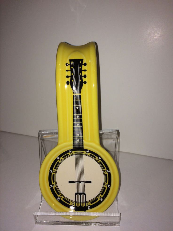 Fiesta® Dinnerware Post-86 Banjo Decal Spoon Holder. This item was a convention gift at the 2010 Homer Laughlin China Collectors Assocation (HLCCA) which was held in Nashville.   It was a limited edition of some 200-300 | eBay