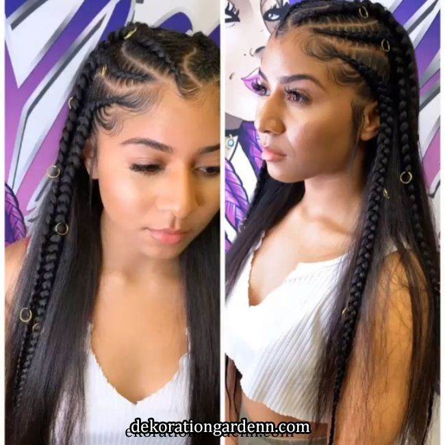 @styledby_yalemichelle [Video] in 2020 | Braided hairstyles, Natural hair styles, Box braids hairstyles