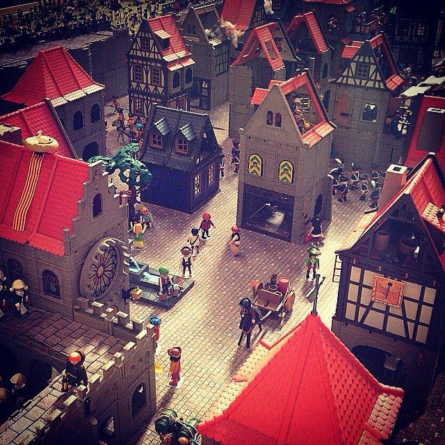 7è Festival de #Clicks de #Playmobil a #Montblanc. #clickània2014 #montblancmedieval
