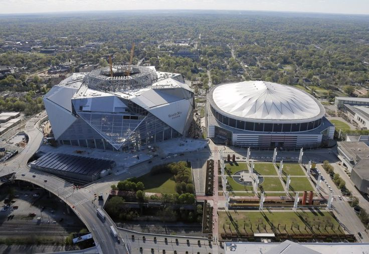 Here are some tips for getting to the Mercedes-Benz Stadium using MARTA trains to see the Atlanta Falcons and Atlanta United.