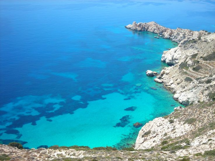 Limenari Bay, Donoussa Island in the Cyclades, Greece ✯ ωнιмѕу ѕαη∂у