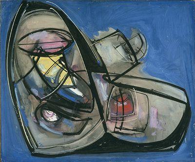 Hans Hofmann, Phosphoric Form 1946  on ArtStack #hans-hofmann #art