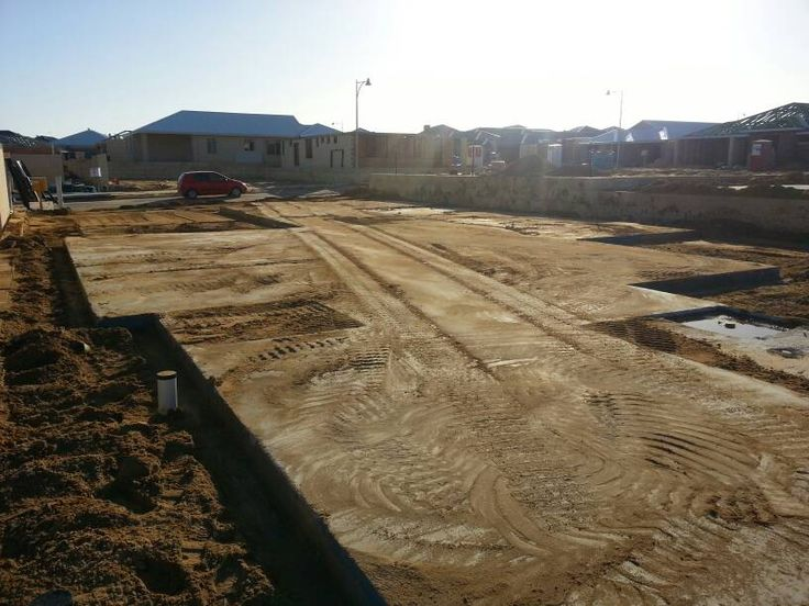 via the Homeone forum. Another slab down!