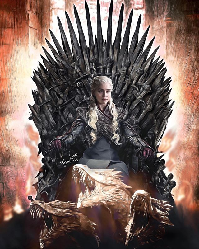 Vera Adxer Vera Adxer φωτογραφίες και βίντεο στο Instagram Queen Of Fire Mother Of Dragons Game Of Thrones Artwork