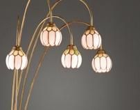 Project LIGHTING - Floor lamps by Fedja Papric, via Behance