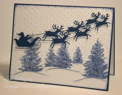 Scenic Season, Santa and Reindeer Die, Jingle Belles