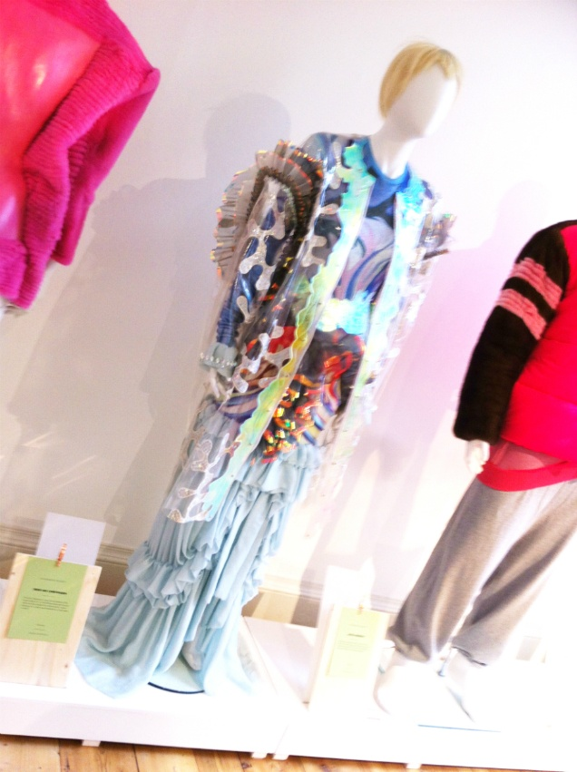 Checking out some of the emerging fashion labels on show at Somerset House for London Fashion Week AW13