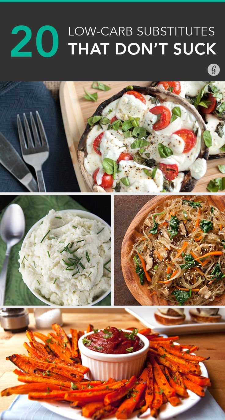 Yes, you can still enjoy these swaps as much as pizza and french fries. #lowcarb #healthy #swaps