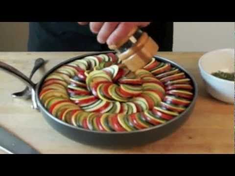 (1) Ratatouille Casserole - Bruno Albouze - THE REAL DEAL - YouTube