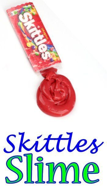 DIY Slime! Make this super easy DIY slime inspired by Skittles! Cool, Unique and fun slime DIYs you need to try!