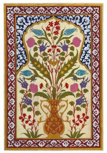 Edirnekâri Nedir?: edirnekari motifleri