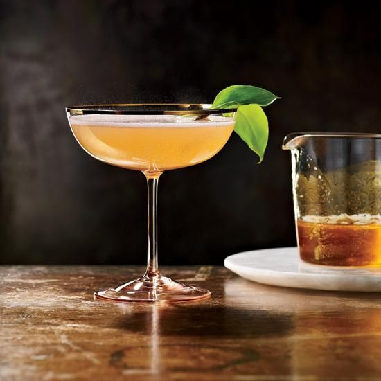 Stone Rose | When Jackson Cannon was growing up in Virginia, he would suck the nectar out of the honeysuckle flowers that grew on the long fence across from his house. This sparkling, pear-scented cocktail reminds him of that time. Leftover spiced syrup can be stirred into tea or lemonade or poured over fresh fruit.