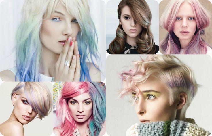 Tendinta nuantelor pastelate in colorarea parului