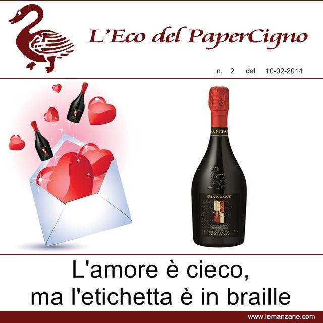 Papercigno by Le Manzane - L'amore � cieco ma l'etichetta � in BRAILLE