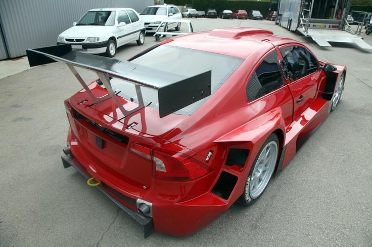 S60 BTSC car before graphics were applied 2010 – serhat kaya