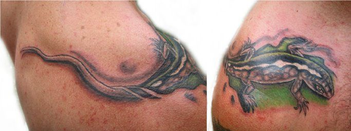 lagartija,tattoo