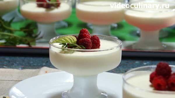Домашнее ванильное мороженое (парфе)