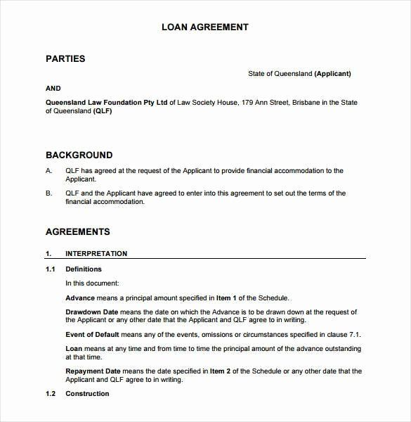 Agreement Between Two Parties Template New 28 Loan Contract Templates Pages Word Docs In 2021 Loan Agreement Agreement Letter Contract Template