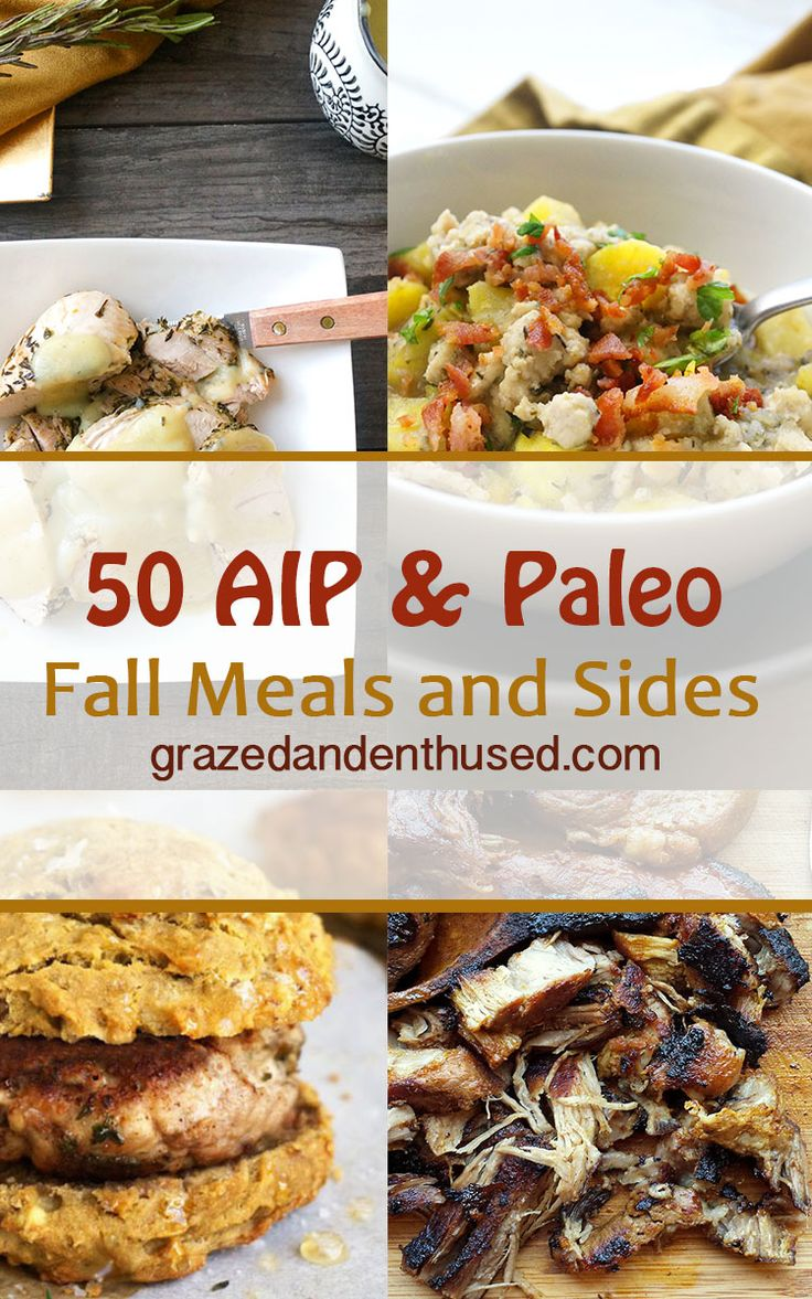AIP Paleo Gluten-Free Fall-Inspired breakfasts, mains, and sides for every budget