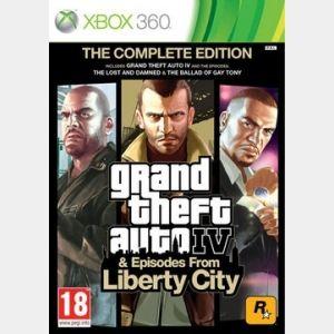 #GrandTheftAuto4 GTA IV Complete Edition Xbox 360, Gamez.ae
