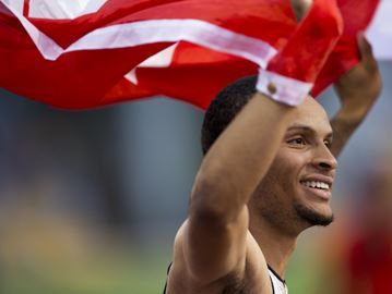 Canada's 4x100m team disqualified