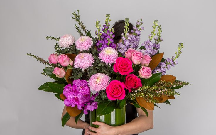 Luxe Colour Flower Arrangement