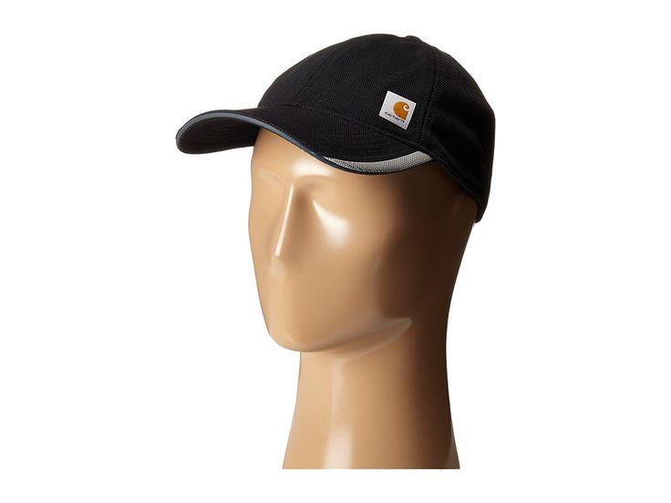 CARHARTT CARHARTT - FORCE KINGSTON CAP (BLACK) BASEBALL CAPS. #carhartt #