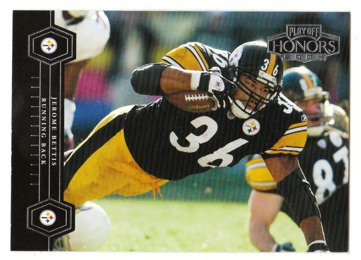 Jerome bettis 77 2004 playoff honors football nfl