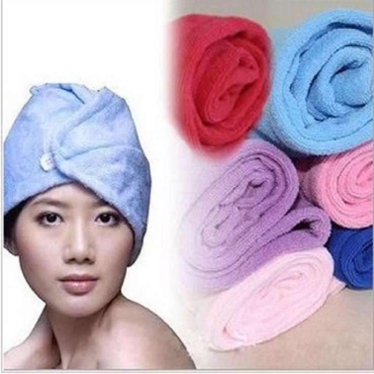 Южнокорейская Пн Кели магия сухие волосы крышка 7 раз супер абсорбент полотенце сухих волос без волос