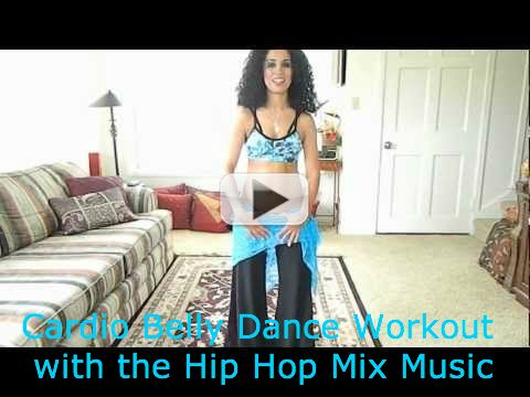 Cardio Belly Dance Workout with the Hip Hop Mix Music. http://www.bellydancehub.com/cardio-belly-dance-workout/