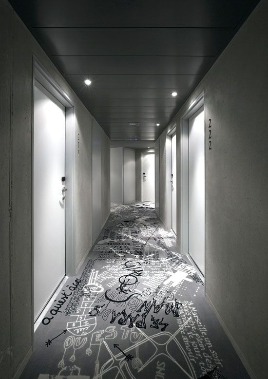 Mama Shelter was launched in Marseille on April, 2012.  Hotel was designed by Philippe Starck.